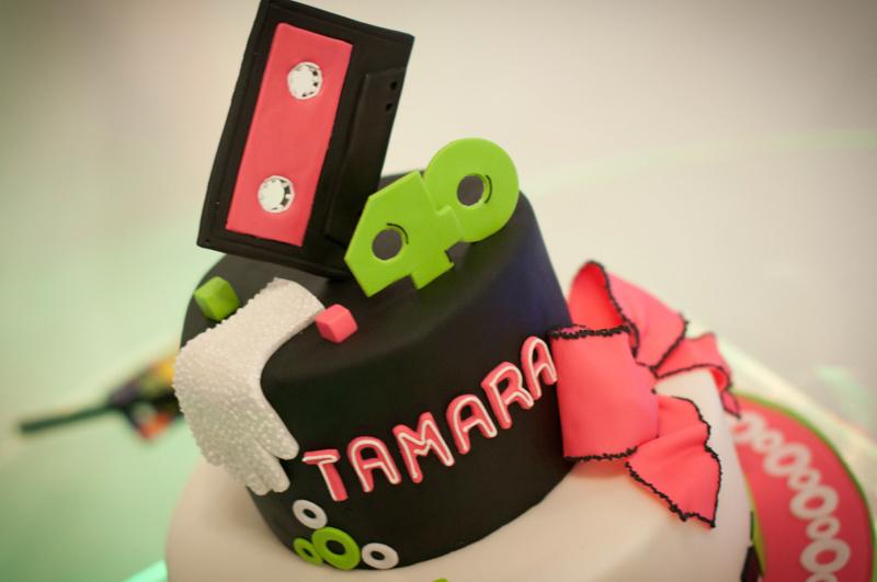 Cassette Cake Topper