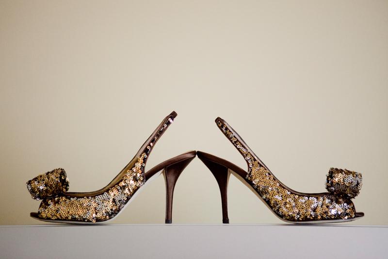 Sequin Heels