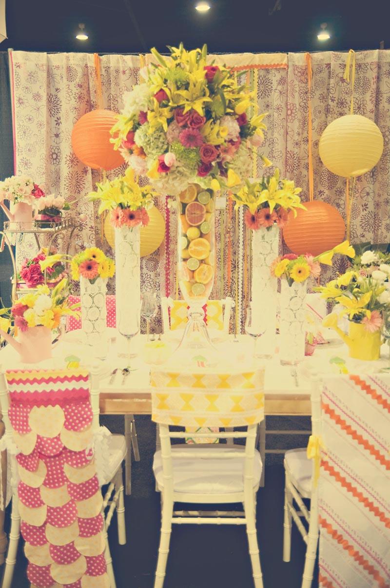 Preppy Reception Table_