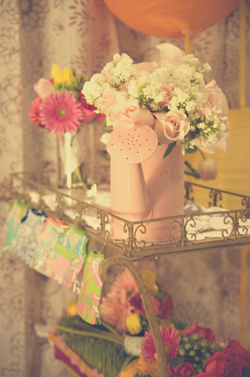 Watering Can Flower Arrangement_
