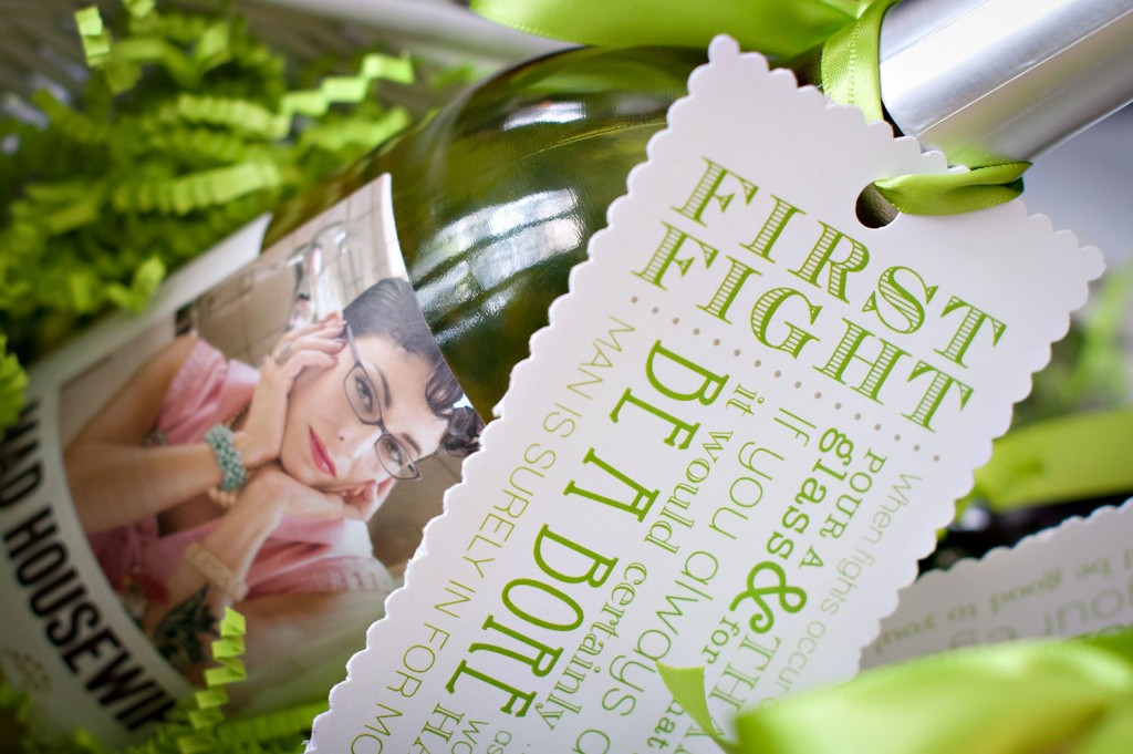 Bridal Shower Gift: Wine Basket Poem Tutorial + Free ...