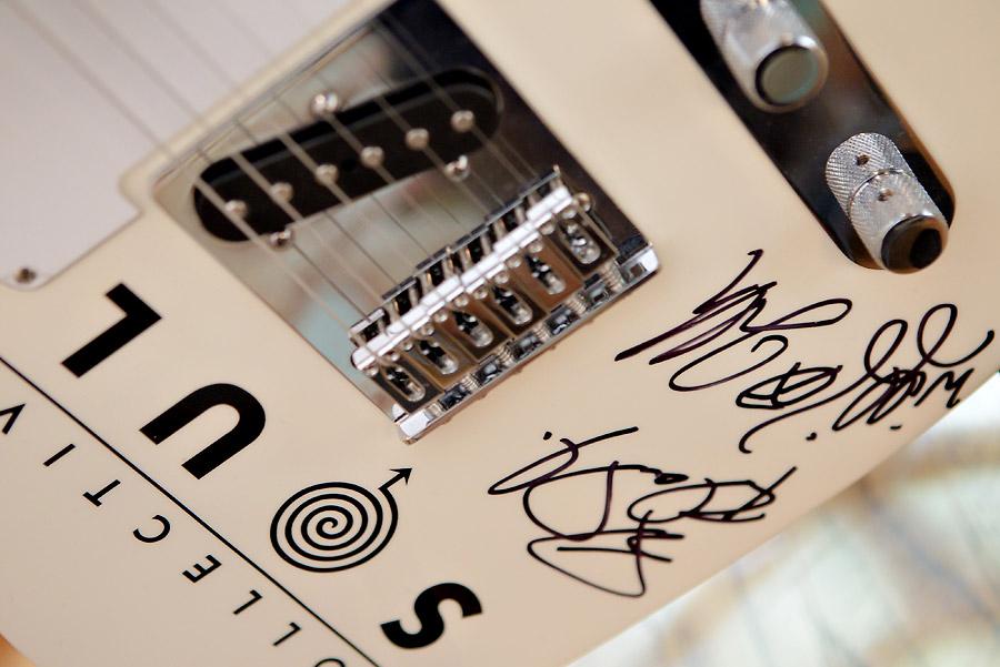 Brian Littrell - Autographed Guitar