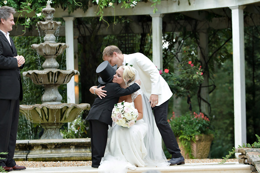 Brian Littrell - Bride & Boy Hugging