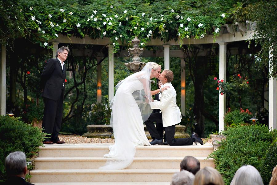 Brian Littrell - Bride & Groom Ceremony Kiss
