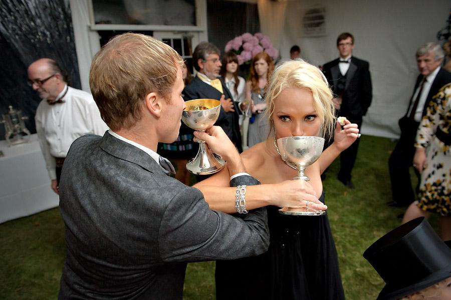 Brian Littrell - Bride & Groom Drinking