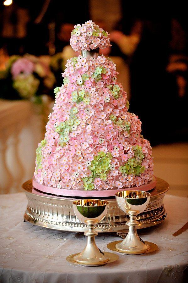 Brian Littrell - Pink Floral Cake
