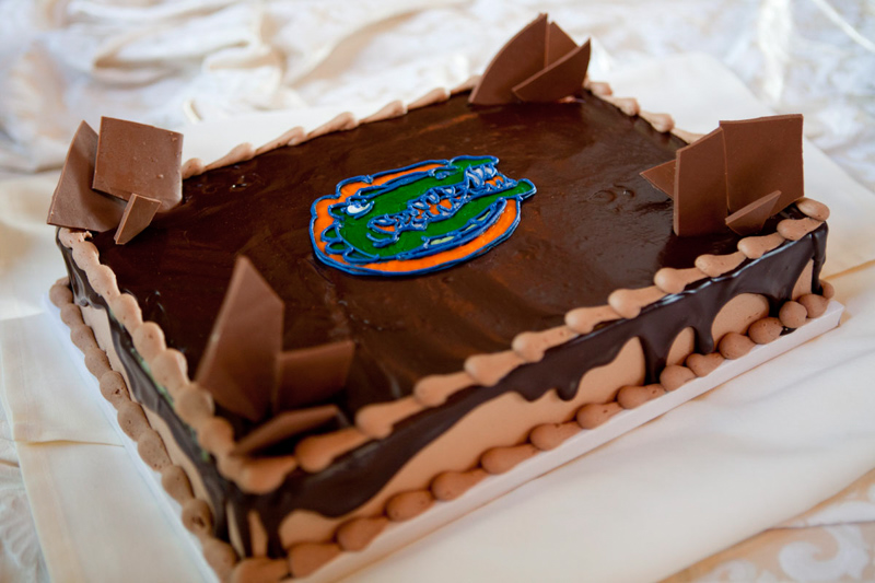 Gators Chocolate Cake