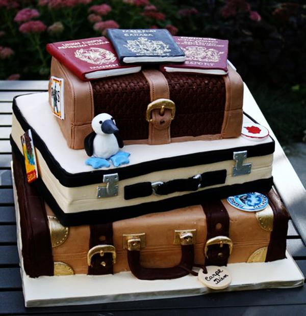 Luggage Cake The Celebration Society