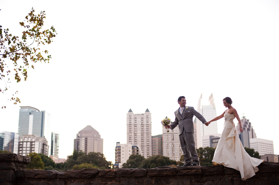 Atlanta Wedding At Magnolia Hall Piedmont Park Conservancy By Tessa Marie Weddings The Celebration Society