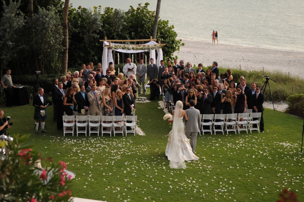 Florida Wedding At La Playa Beach Golf Resort By Moreland Photography The Celebration Society