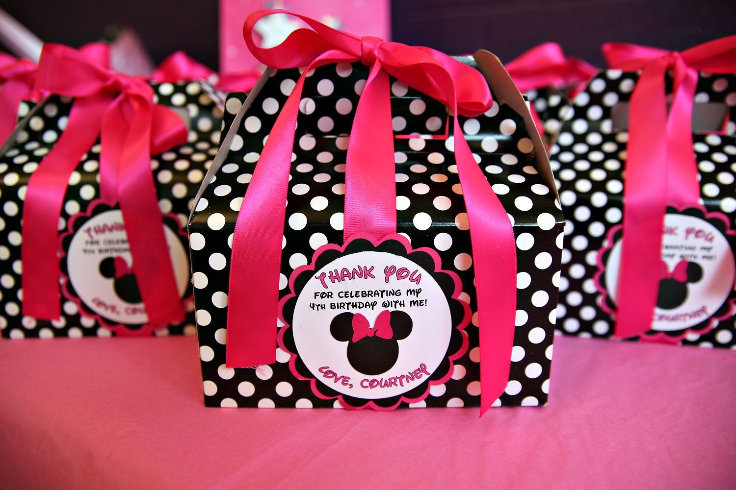 minnie mouse diy party favors Do It Your Self