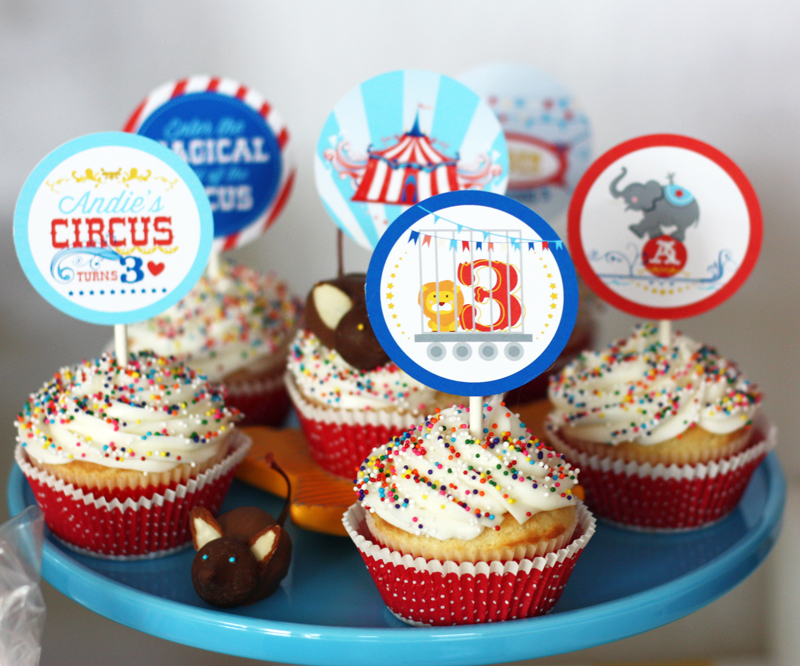 Circus Birthday Party By Wants And Wishes Design