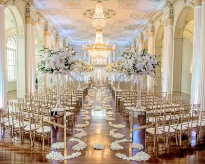 Ceremony venue ideas at The Biltmore Ballrooms in Atlanta.