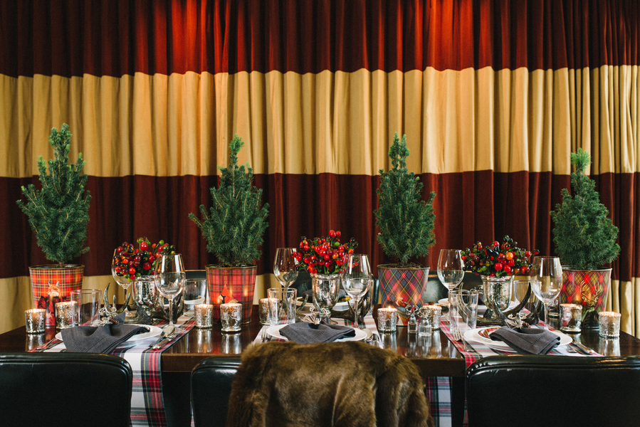 Plaid-Tablescape