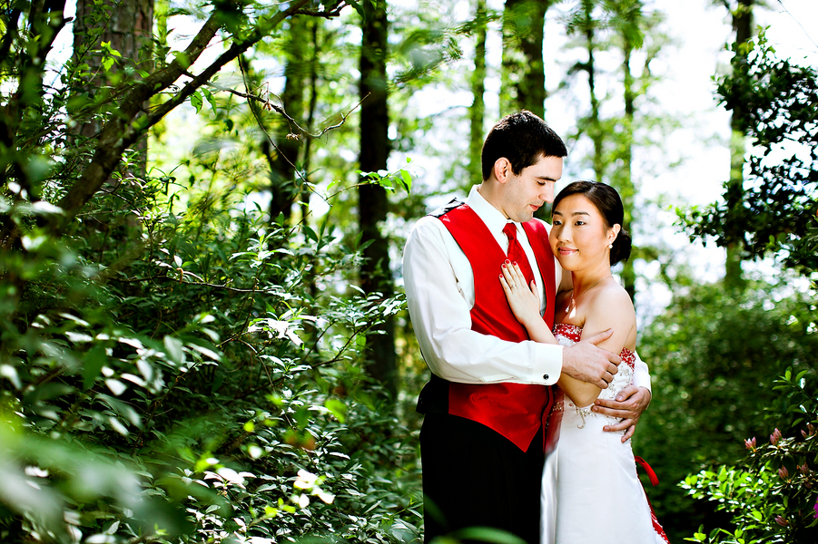 Chinese American Wedding At Four Oaks Manor