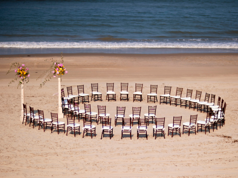 North Carolina Wedding On The Beach Of Outer Banks By Brooke Mayo Photographers Celebration Society
