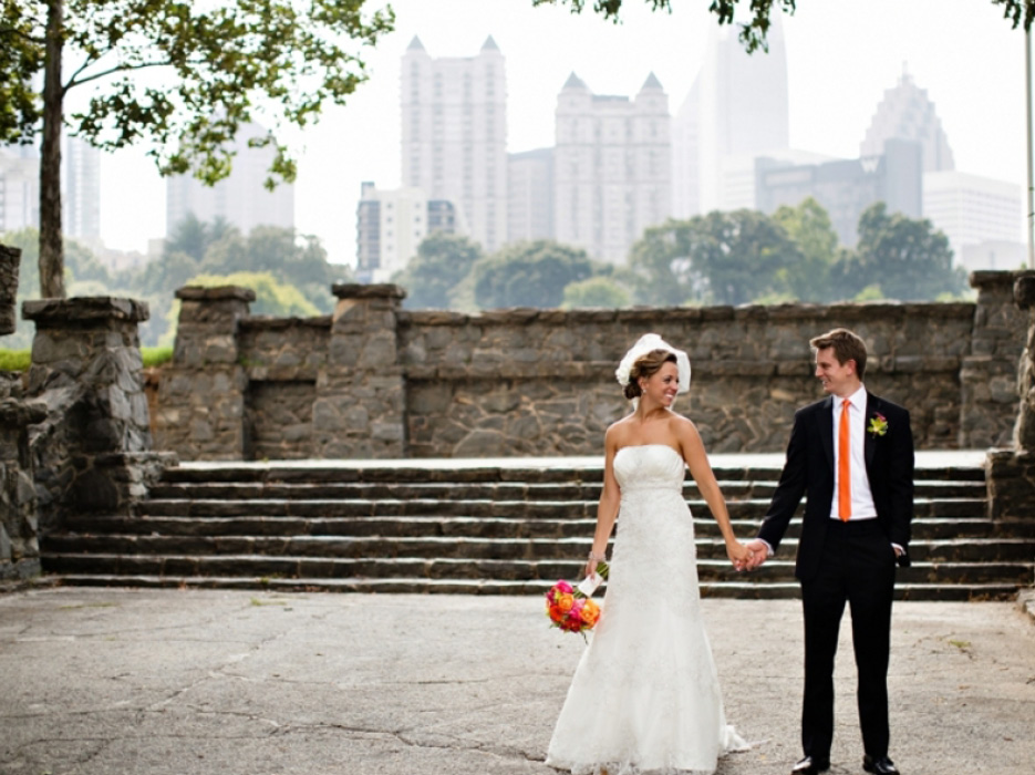 Atlanta Wedding At Piedmont Park By Kelly Lane Photography The Celebration Society
