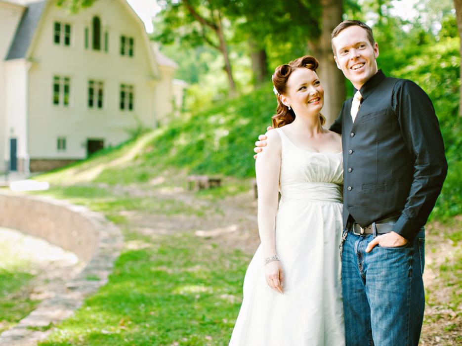 Romantic Rustic Wedding at the White Oaks Barn in Dahlonega GA The Celebra