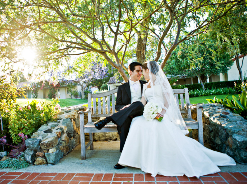 Rancho Santa Fe California Wedding At The Inn By Jennifer Dery Photography Celebration Society