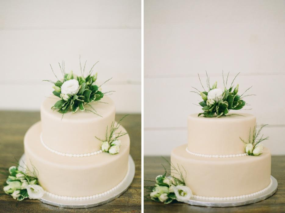 simple-elegant-white-wedding-cake - The Celebration Society