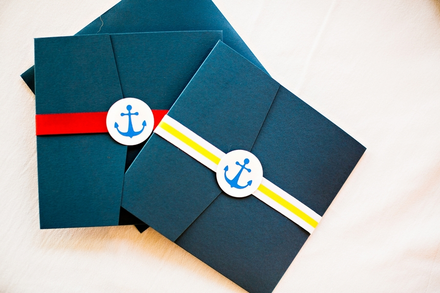 sailor-baby-shower-invitations-navy-yellow-anchor - The Celebration ...