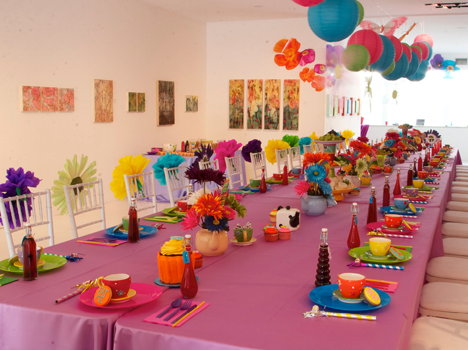 Alice In Wonderland Themed Birthday Party