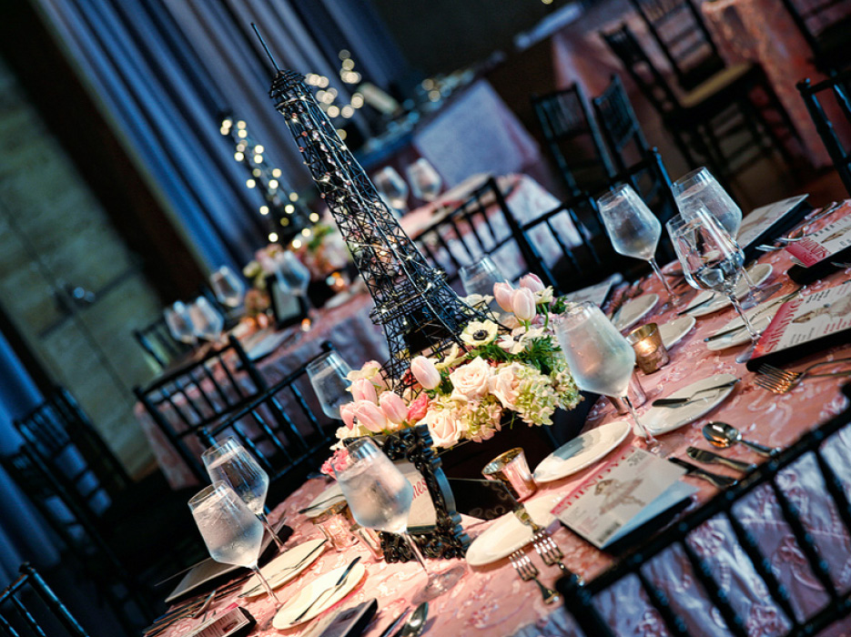 Fashion and travel themed bat mitzvah the celebration for International theme decor
