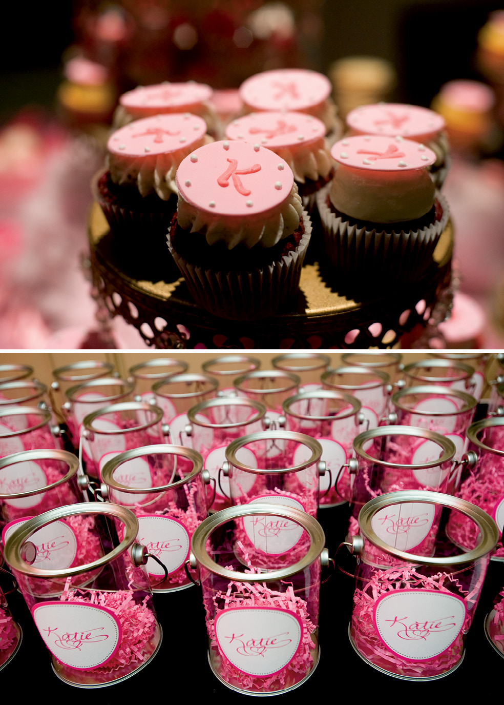 Pink Bat Mitzvah Favors Dessert The Celebration Society