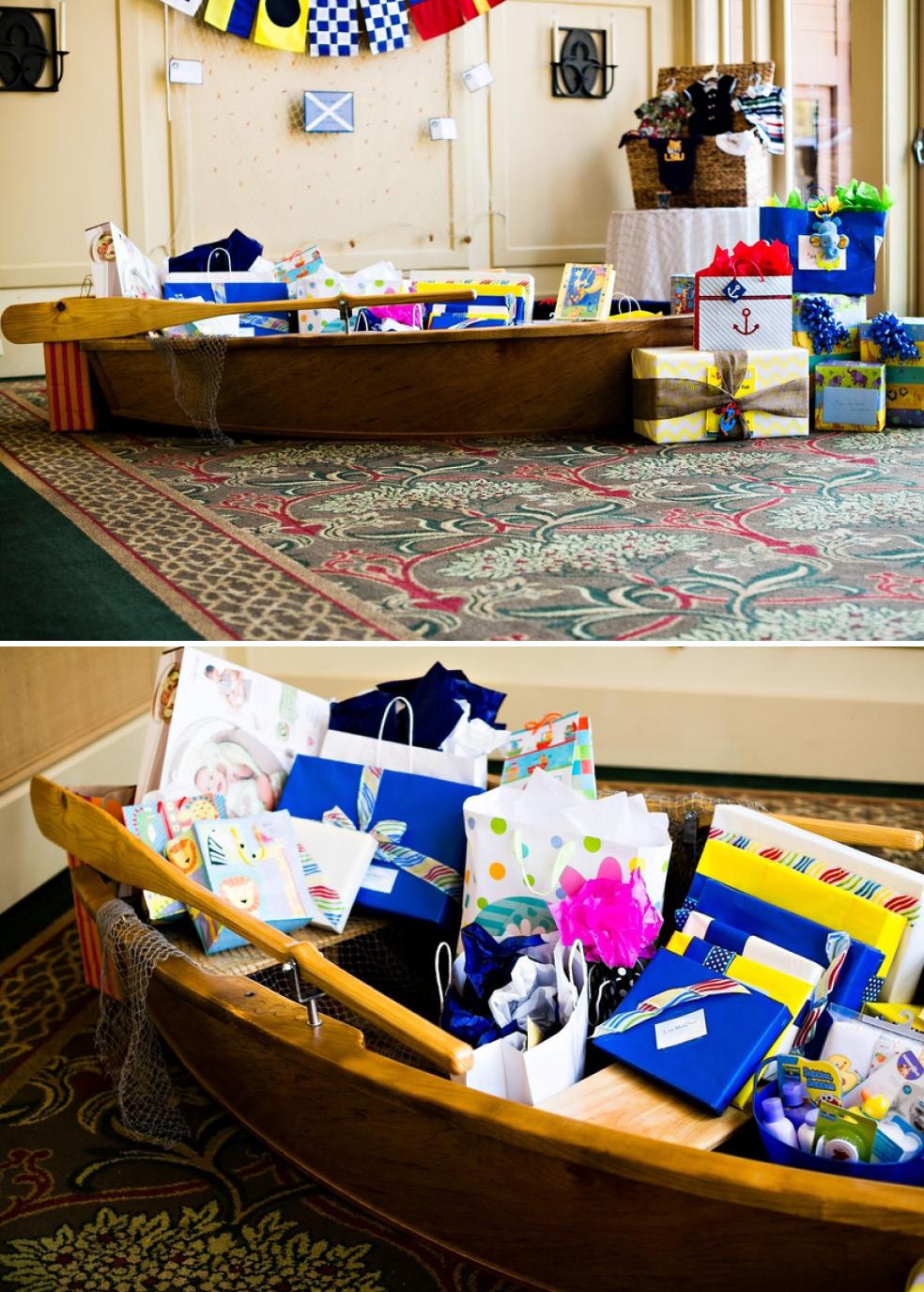 Sailor Baby Shower Boat Oar Gifts