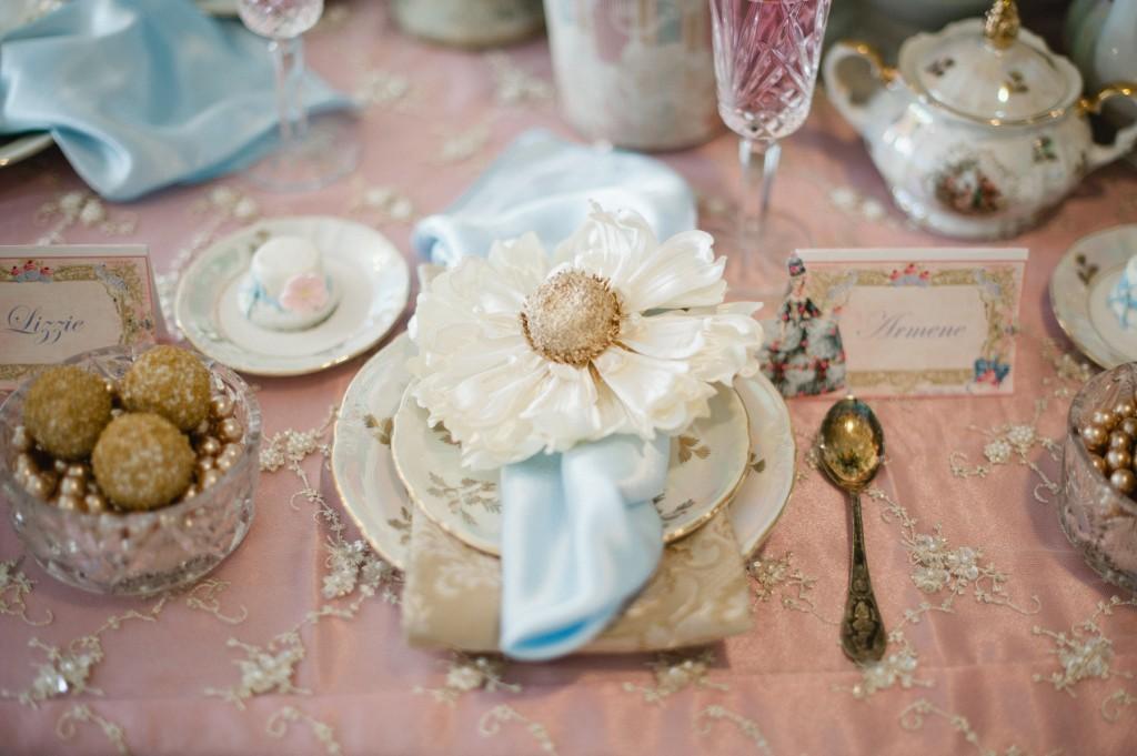 Marie Antoinette Themed Girls Party