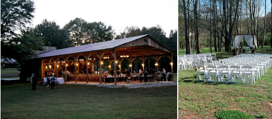 Silver City Farm Board From Top 5 Wedding Venues In Georgia