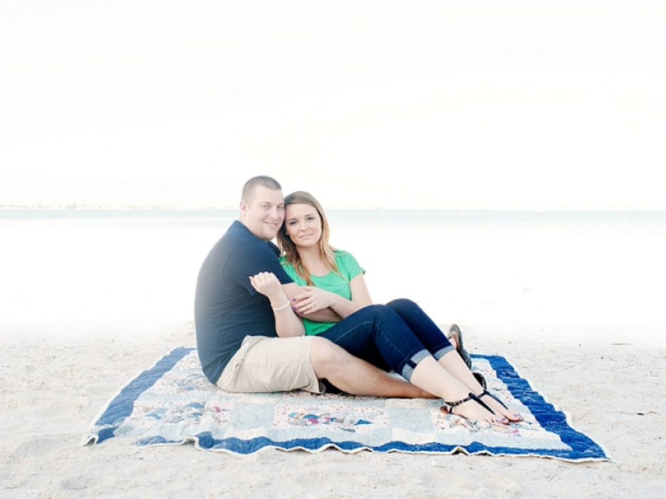 Casual Beach Engagement Shoot in St. Petersburg - The Celebration ...