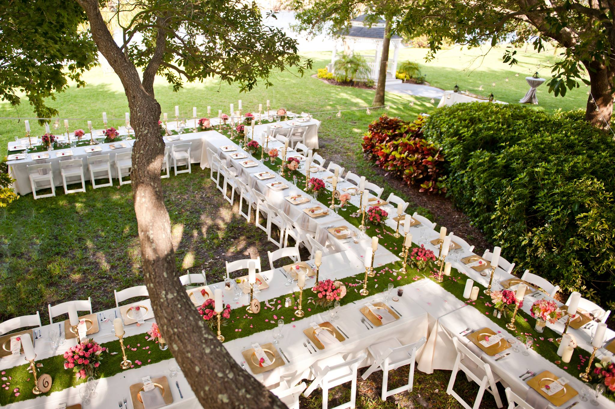 Top 6 Garden Wedding Venues Florida Davis Island Club002