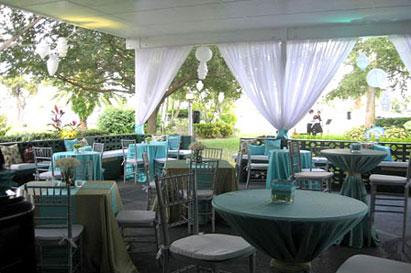 Top 6 Garden Wedding Venues Florida Davis Island Garden Club002 The Celebration Society