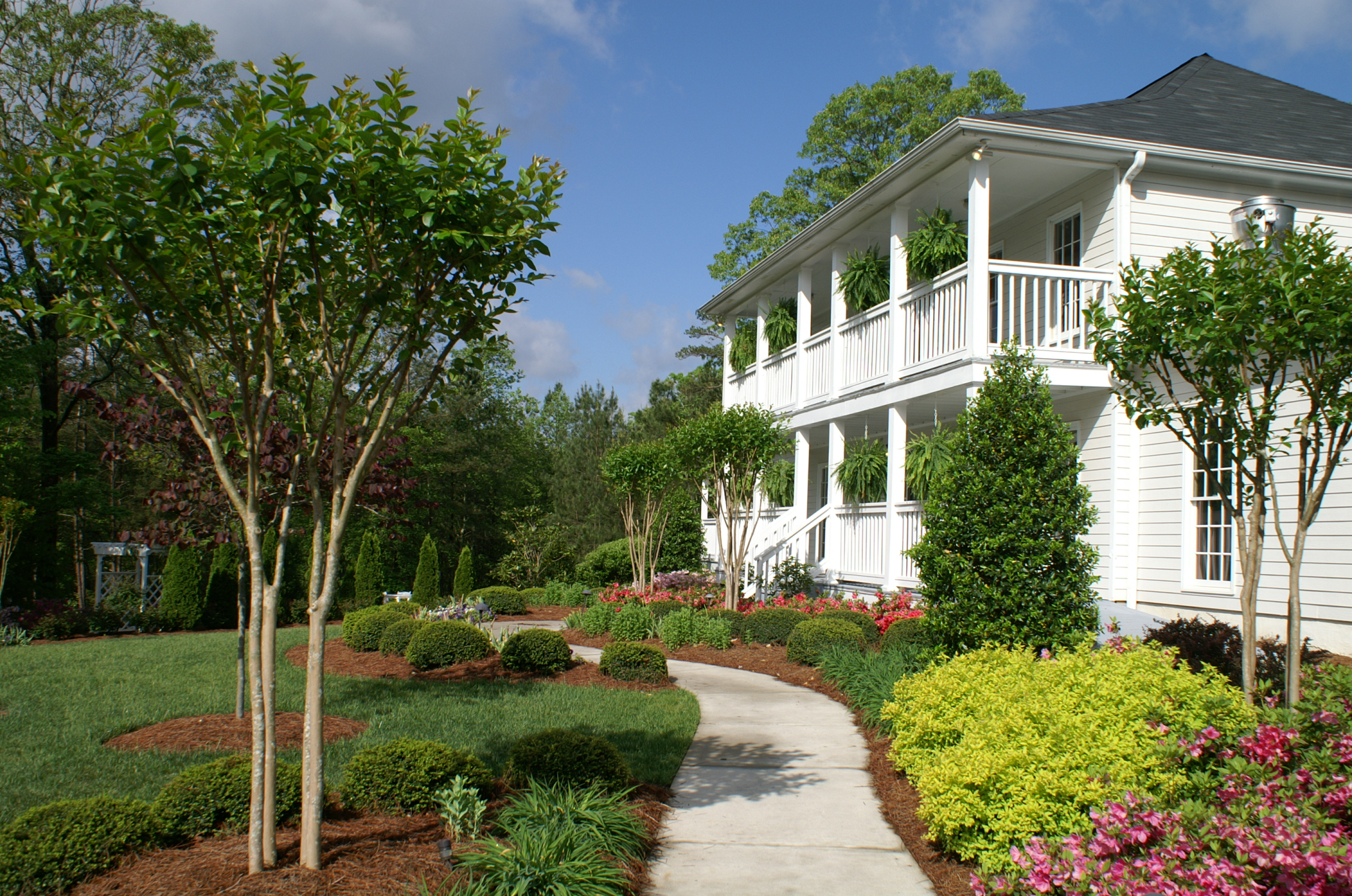 Virtual Venue Tour of Bradford House and Gardens in Flowery Branch ...
