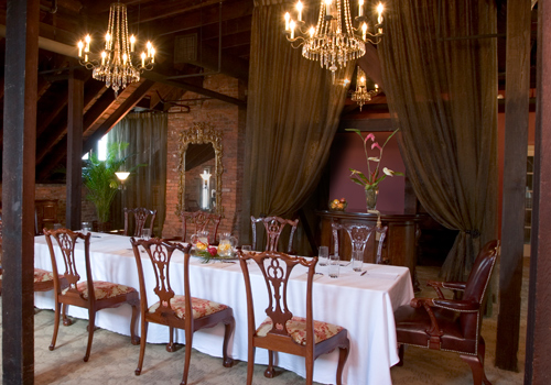 Haunted the kehoe house dining the celebration society for Haunted dining room ideas