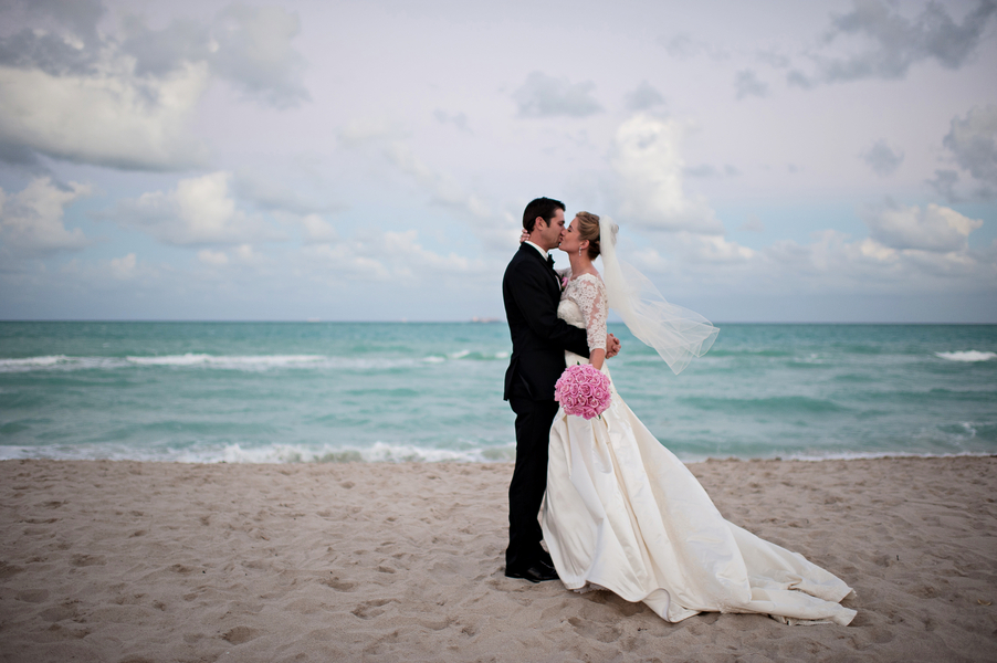 Miami Wedding At Eden Roc Beach By Kristen Weaver Photography The Celebration Society