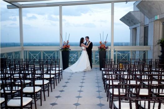 Beautiful Outdoor Wedding Ceremony At Tribeca Rooftop: Top 5 Rooftop Wedding Venues In Georgia