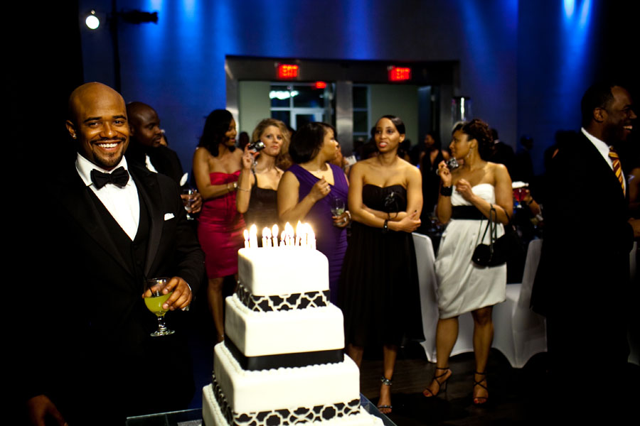Quot Black Tie Swag Quot Themed Birthday Celebration The