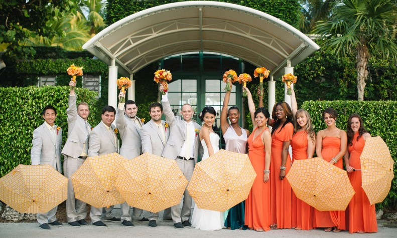 C Gables Florida Wedding At Red Fish Grill By Erika Delgado Photography The Celebration Society