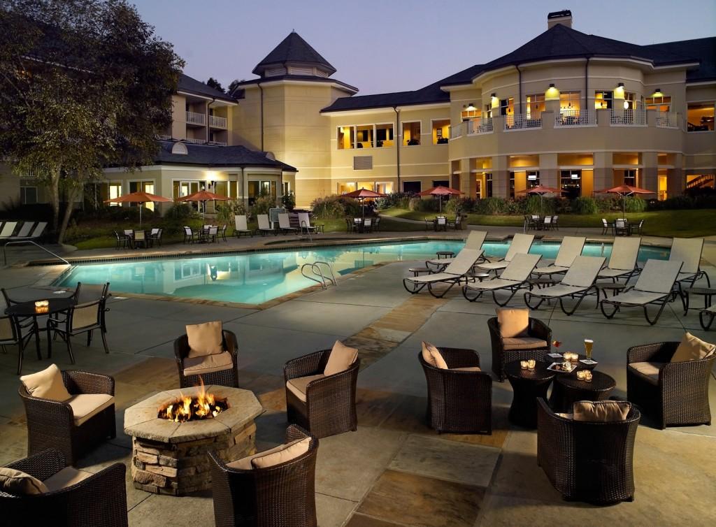 Atlanta evergreen marriott conference resort wedding for The evergreen