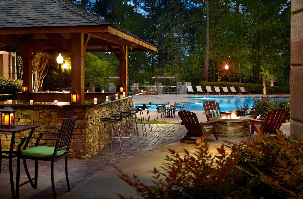 Atlanta Evergreen Marriott Conference Resort Wedding