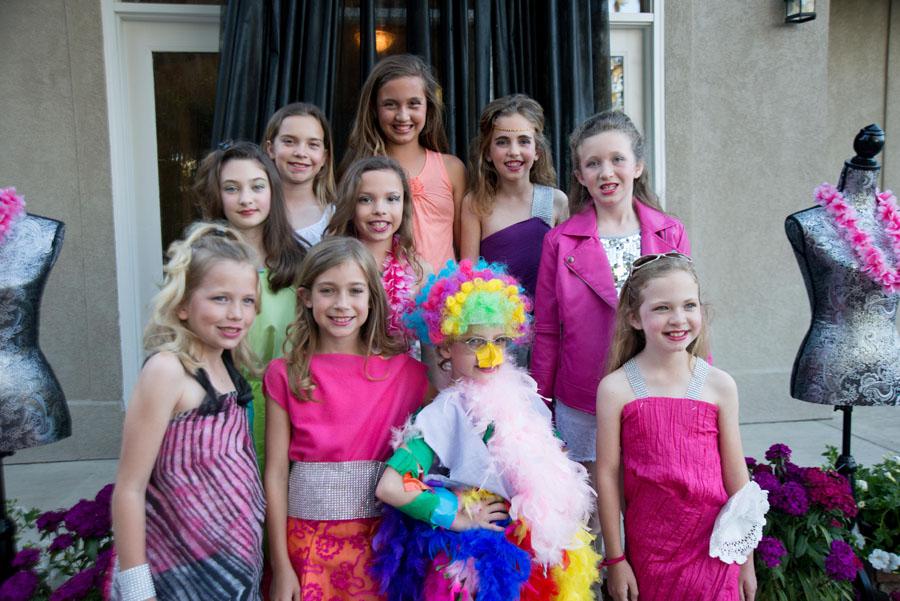 Vibrant Fashion Themed Birthday Party The Celebration