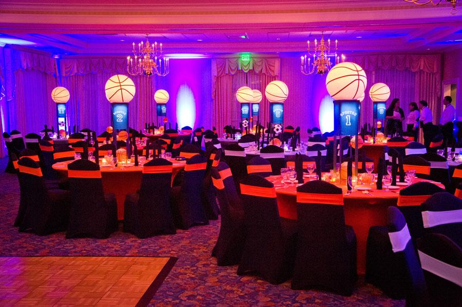 Basketball And Soccer Themed Bar Mitzvah