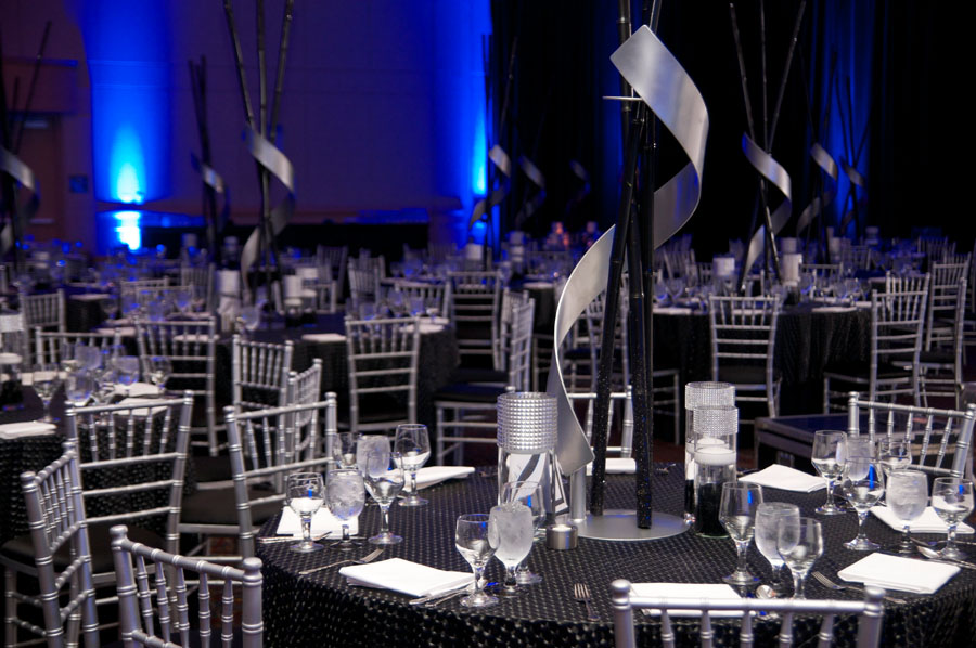 Black And Silver Bar Mitzvah