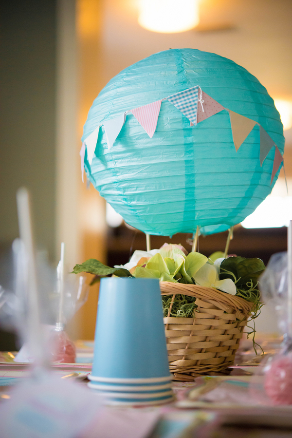 Vintage Hot Air Balloon First Birthday Party