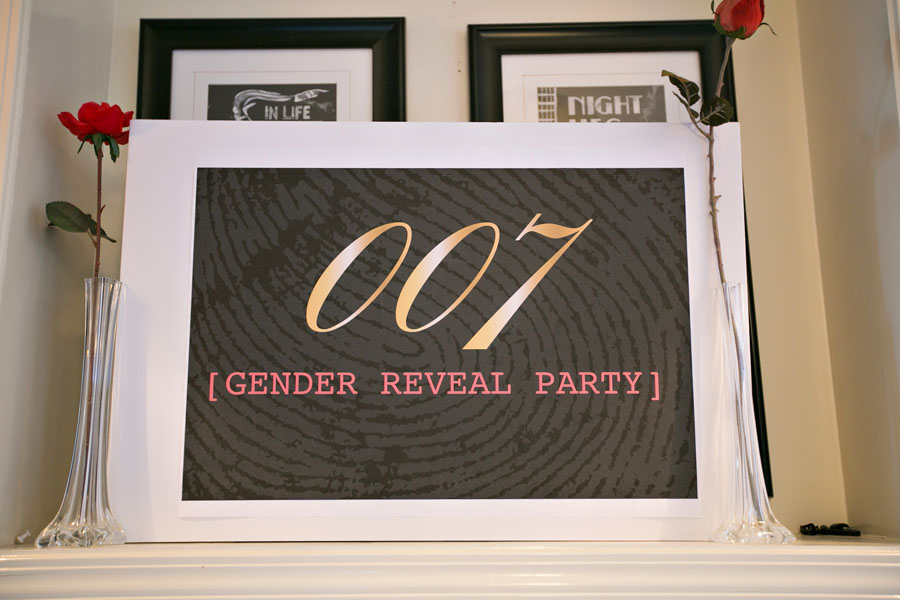 Classy 007 And Mission Impossible Themed Gender Reveal
