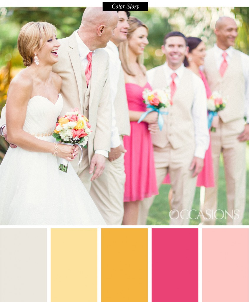 Outdoor Wedding at Naples Botanical Garden - OCCASIONS