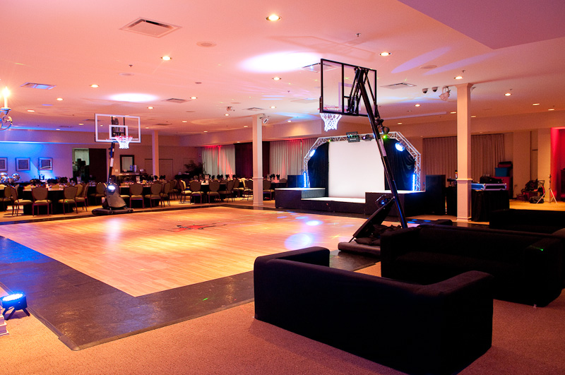 March Madness Basketball Themed Bar Mitzvah