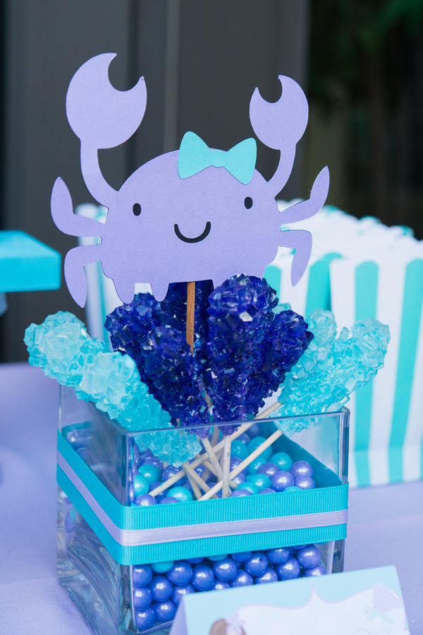 Purple Mint and Aqua Mermaid Themed Birthday Party CaryDiazPhotography occasionsonline 058 - barn themed wedding ideas